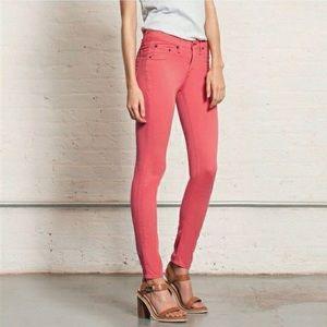 Rag&Bone legging jeans spiced coral skinny stretch